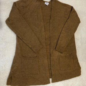 Old Navy Long Open Front Sweater